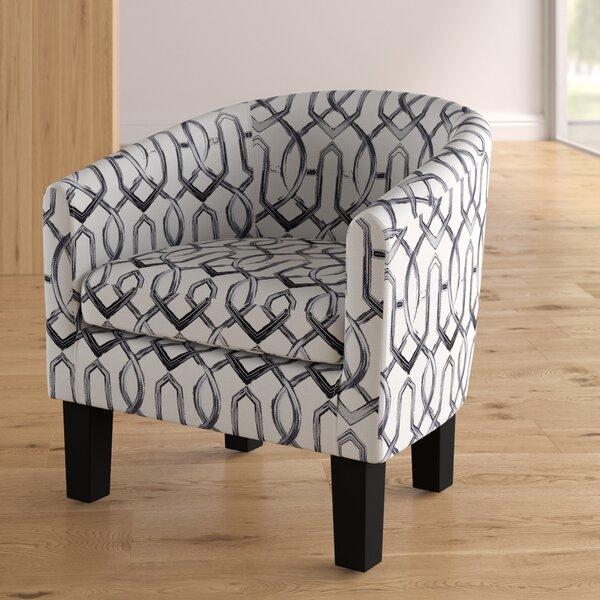 Ballew Barrel Chair by Ebern Designs