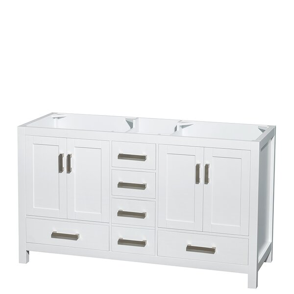 Sheffield 59 Double Bathroom Vanity Base Only