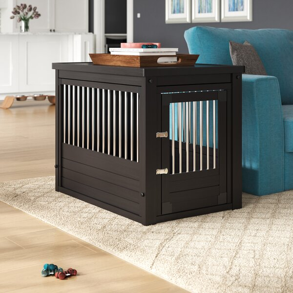 Ace Pet Crate End Table By Archie Oscar.