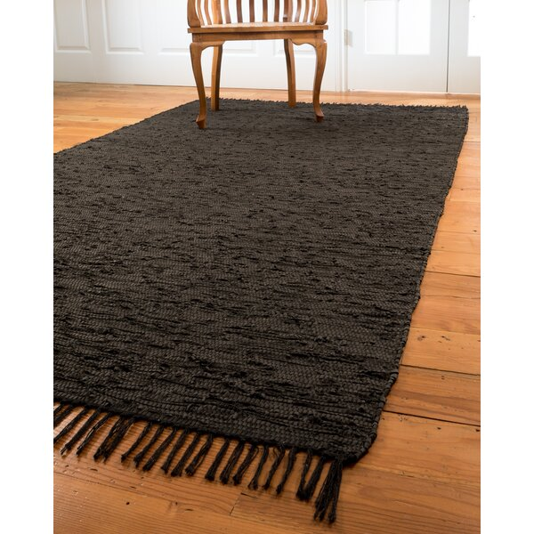 Limassol Leather Black Area Rug by Natural Area Rugs