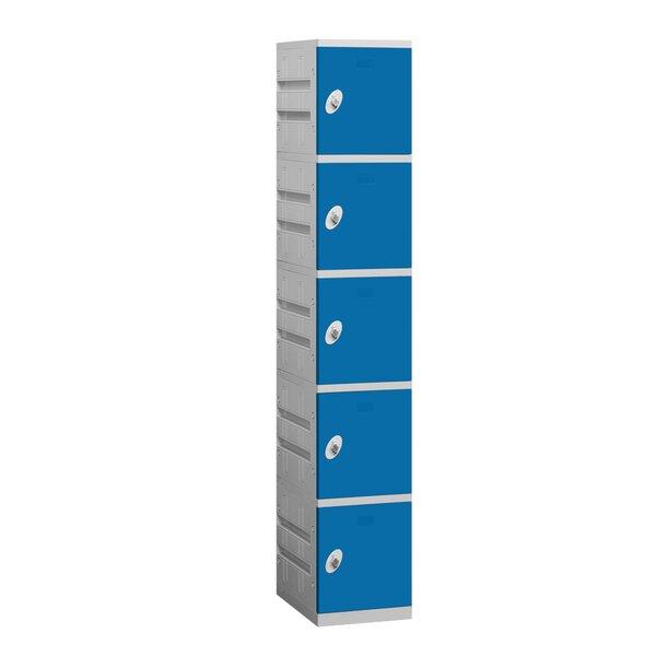 5 Tier 1 Wide Employee Locker by Salsbury Industries