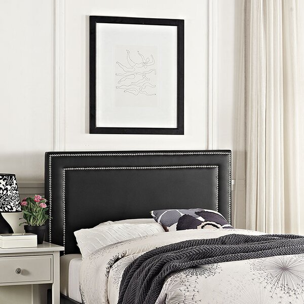 Eyre Twin Upholstered Panel Headboard by Ivy Bronx