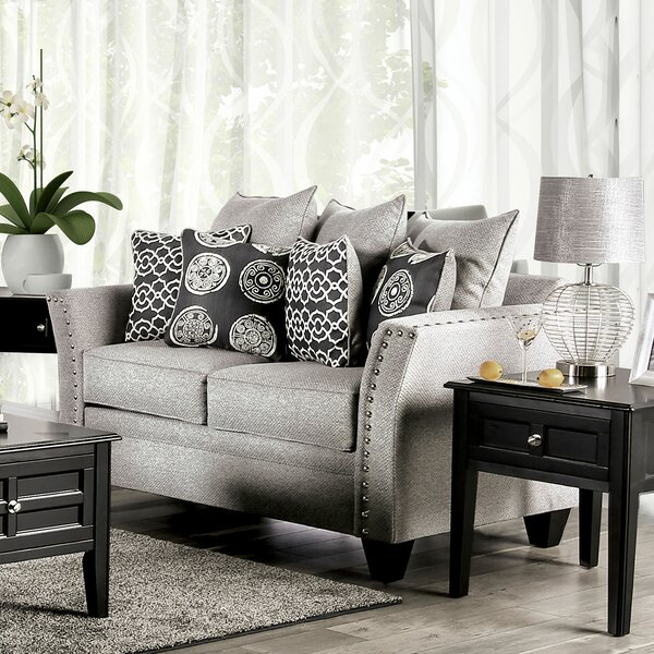 Delrosario Loveseat by Darby Home Co