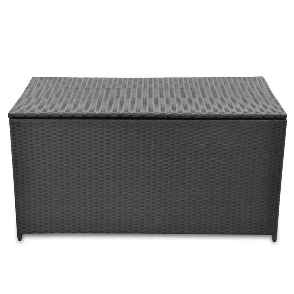 Monger 95.1 Gallon Wicker/Rattan Deck Box by East Urban Home East Urban Home
