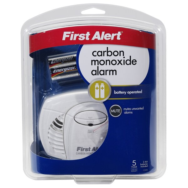 Battery Powered Carbon Monoxide Alarm by First Ale