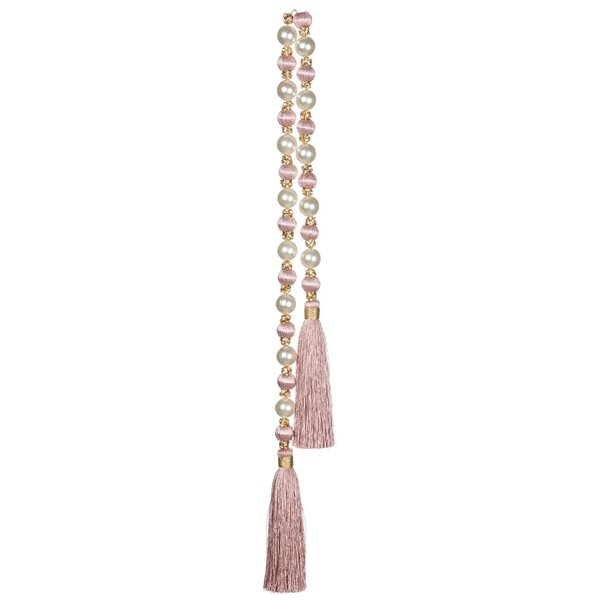 Pearl Crystal Bead Tassel Garland by The Holiday Aisle
