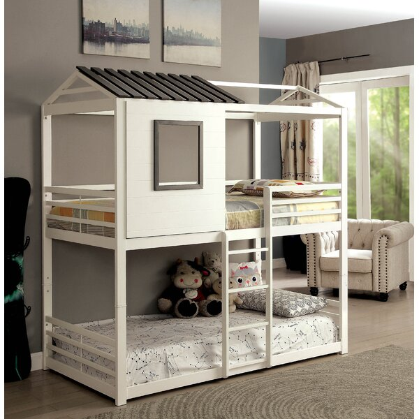 Odum Novelty House Twin Bunk Bed by Harriet Bee