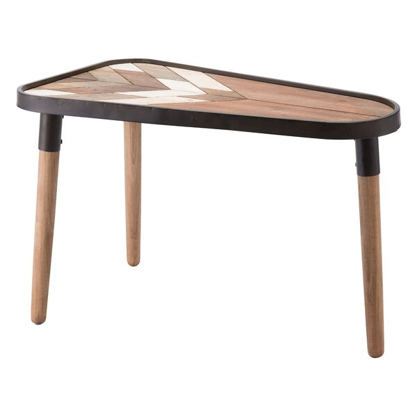 Canty Modern Arrow End Table by Union Rustic