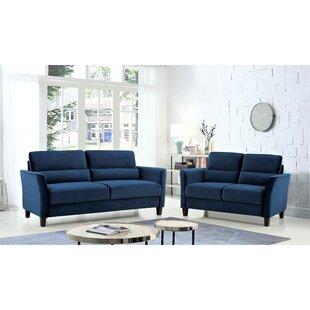 Adriena 2 Piece Standard Living Room Set by Red Barrel Studio®