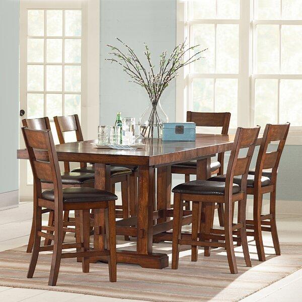 Ellington 7 Piece Counter Height Extendable Dining Set