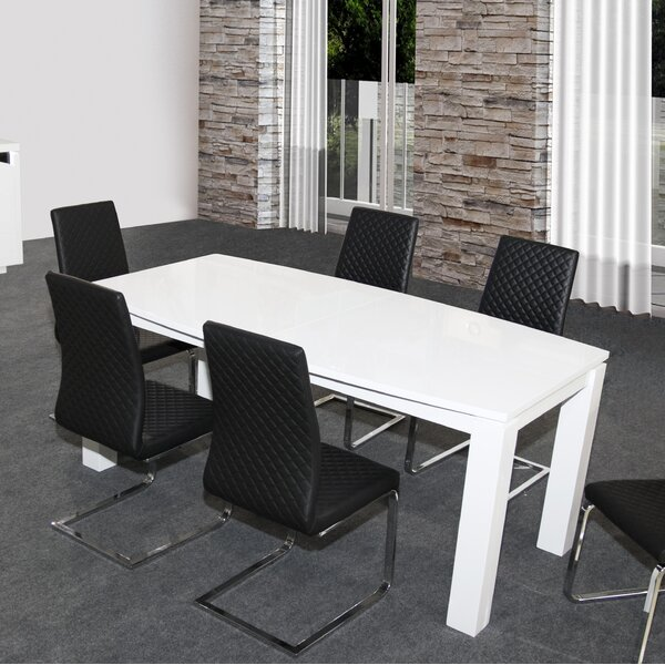 Dowell Expandable Dining Table by Orren Ellis