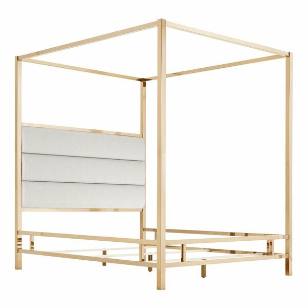 Wicklund Upholstered Canopy Bed by Willa Arlo Interiors