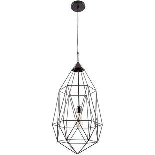 Price Check Diego 1-Light Foyer/Geometric Pendant ByWrought Studio