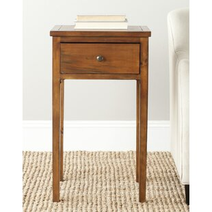 Emilie End Table With Storage