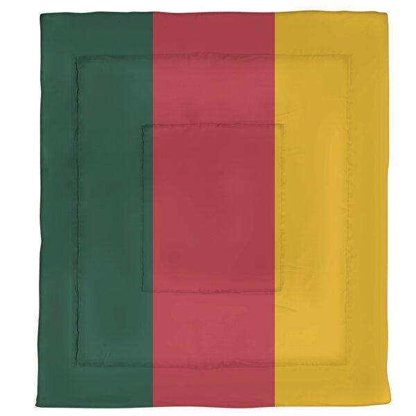 Minnesota Hockey Single Reversible Comforter