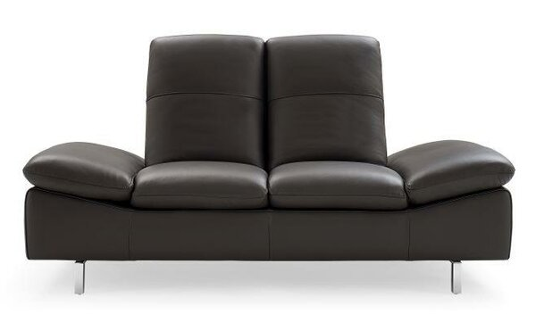 Ahmed Leather Loveseat by Wade Logan