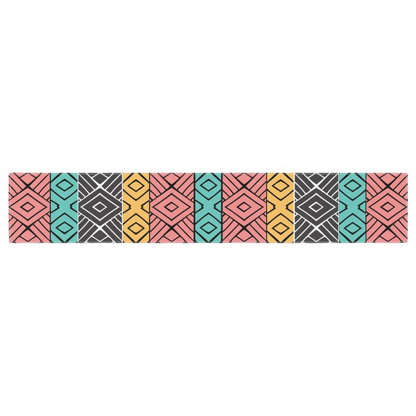 Pom Graphic Design Artisan Table Runner by East Urban Home