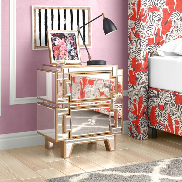 Shalon 2 Drawer Nightstand by Willa Arlo Interiors