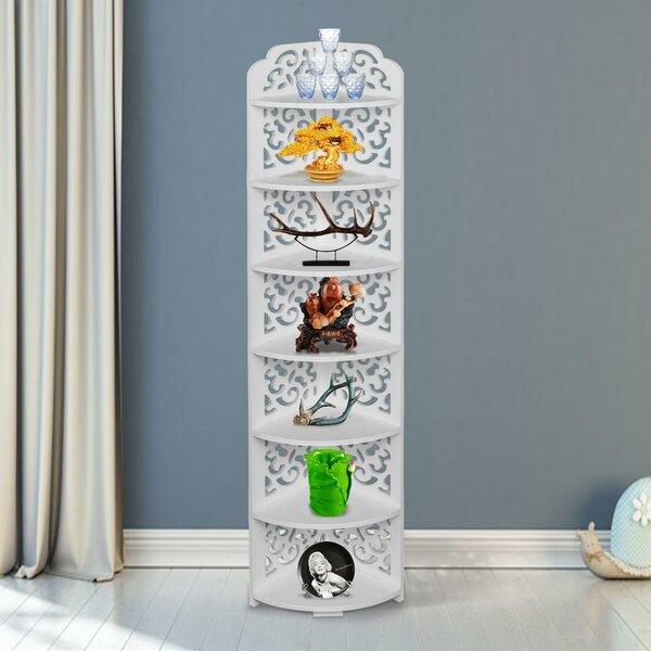 Cersei 9'' W x 46'' H x 9'' D Free-Standing Bathroom Shelves