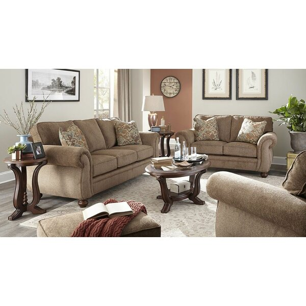 Rossmoor 4 Piece Configurable Living Room Set by Canora Grey