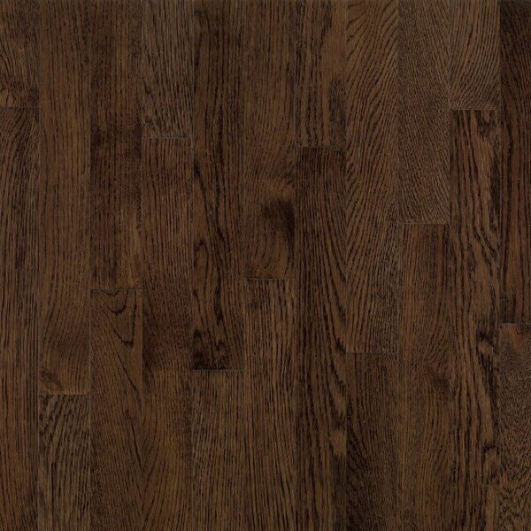 Dundee 2-1/4 Solid White Oak Hardwood Flooring in Mocha by Bruce Flooring
