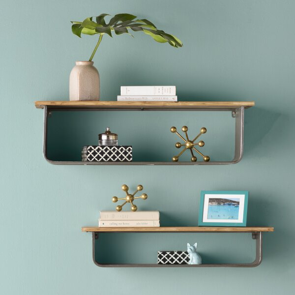 Schoolhouse Accent Shelf by Mercury Row