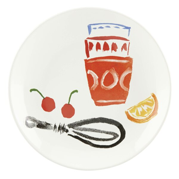 All in Good Taste 8.75 Pretty Pantry Utensils Coupe Accent Plate by kate spade new york