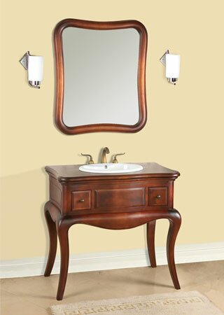 Vintage Corsica 37 Single Bathroom Vanity Set by Ronbow