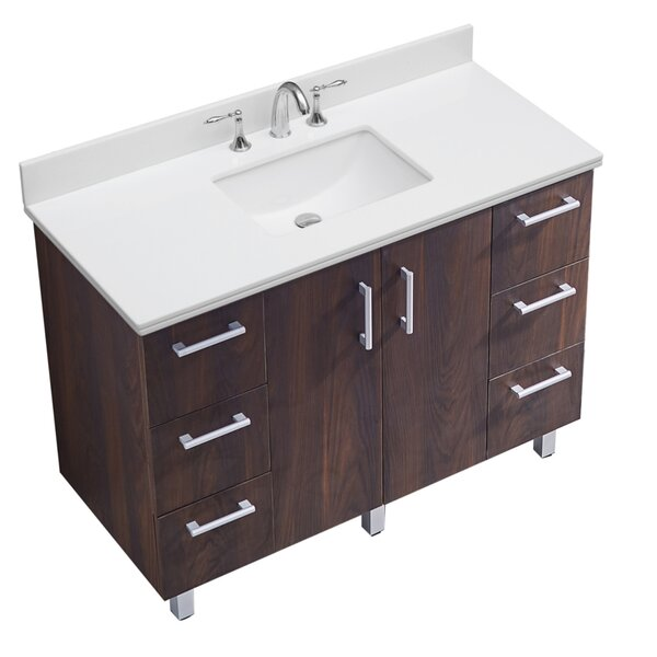 IN Series 48 Single Bathroom Vanity Set by InFurniture