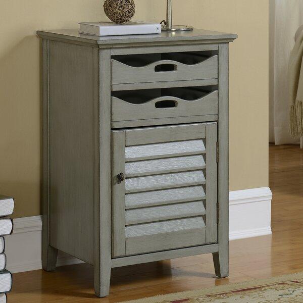 Hatchell 1 Door 2 Drawer Cabinet by August Grove