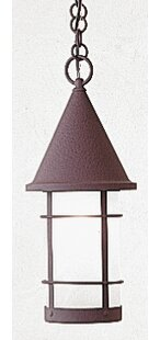 Reviews Valencia 1-Light Outdoor Pendant By Arroyo Craftsman
