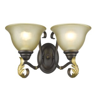 Reviews Woody 2-Light Armed Sconce By Fleur De Lis Living