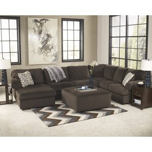 Erewaker Sectional  sc 1 st  Wayfair : leather and suede sectional - Sectionals, Sofas & Couches