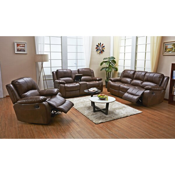 Dowdle 3 Piece Living Room Set