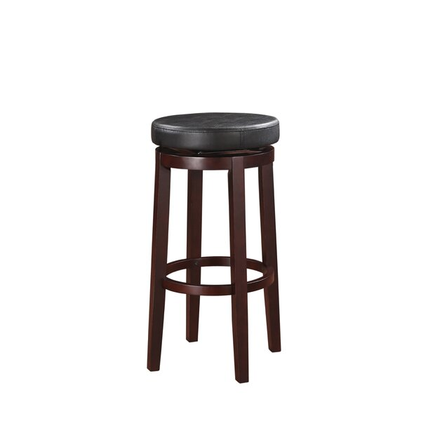 Claverley 29 Swivel Bar Stool by Red Barrel Studio