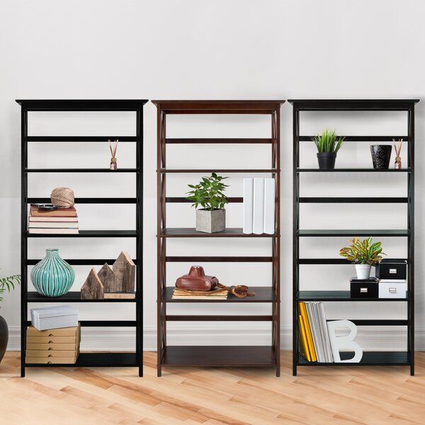 Hitz Etagere Bookcase by Three Posts
