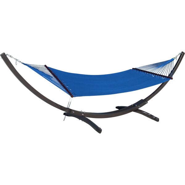 Caribbean Double Polyester Hammock by Latitude Run