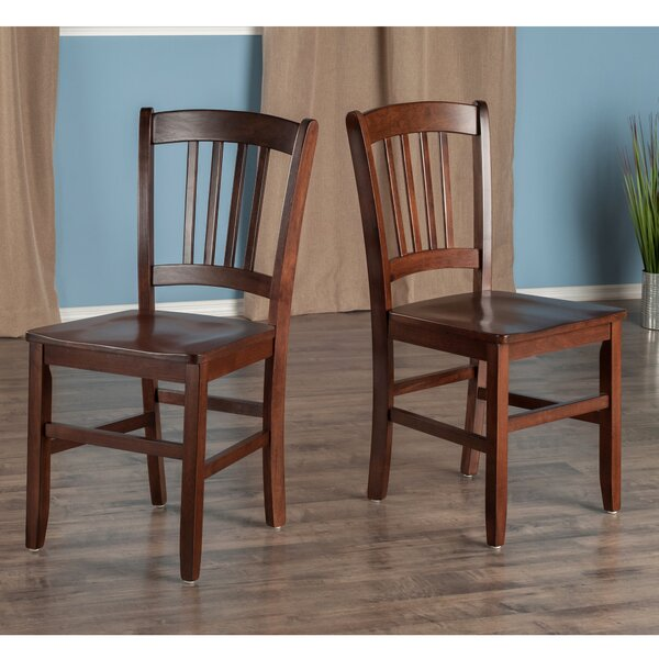 Crossfell Solid Wood Dining Chair (Set of 2) by Red Barrel Studio