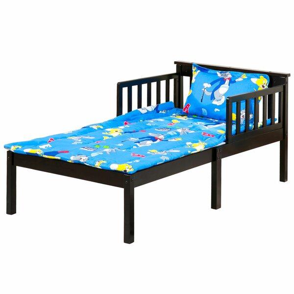 Hershel Convertible Toddler Bed by Harriet Bee