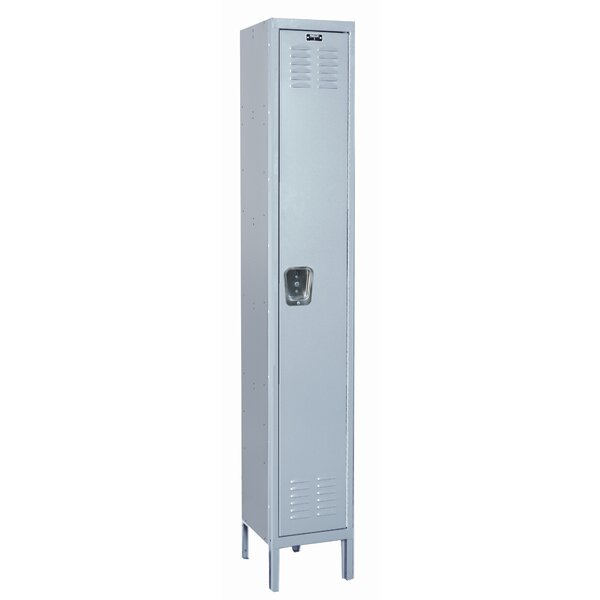 MedSafe 1 Tier 1 Wide School Locker by Hallowell