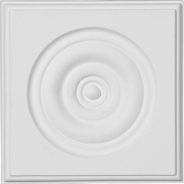 Traditional 5 3/4H x 5 3/4W x 1 1/8D Bulls eye Plinth Block by Ekena Millwork