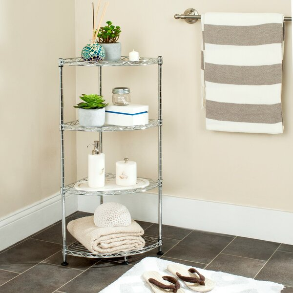 11.8 W x 31.5 H Bathroom Shelf by Rebrilliant