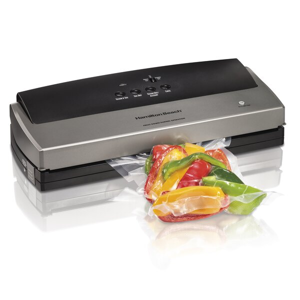 NutriFresh Vacuum Sealer by Hamilton Beach