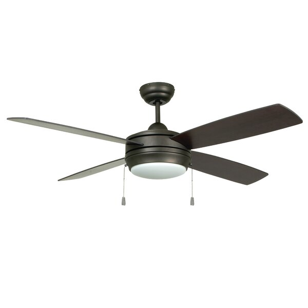 52 Moriarty 4 Blade LED Ceiling Fan by Zipcode Design