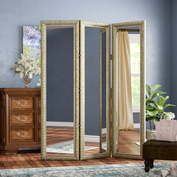 Hayse 3 Panel Room Divider by Astoria Grand