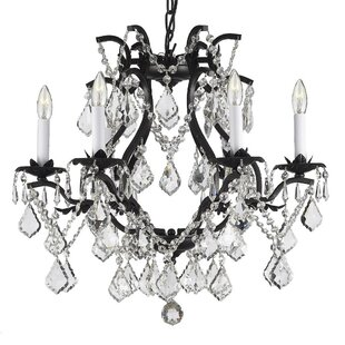 Looking for Alvarado 6-Light Traditional Candle Style Chandelier By Astoria Grand