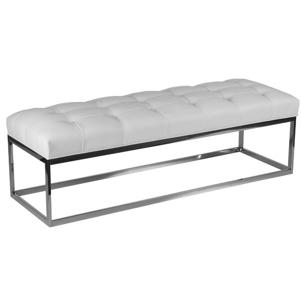 Biago Metal Bench by Cortesi Home