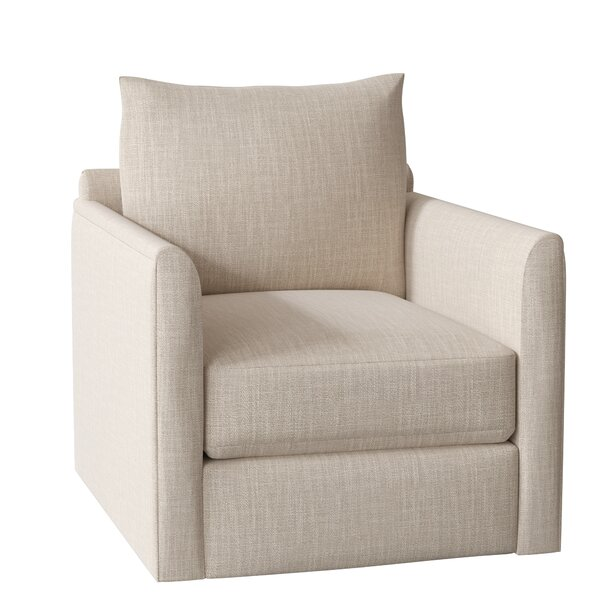 Alice Swivel Armchair By AllModern Custom Upholstery