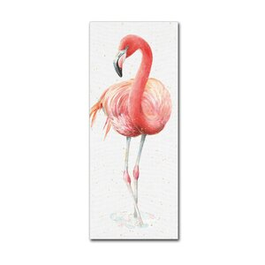 'Gracefully Pink VI' Print on Canvas by Trademark Fine Art