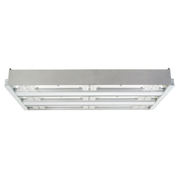 3 Bar Wide lens LED Highbay by NICOR Lighting